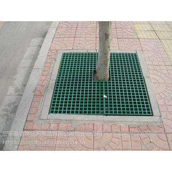 陕西西安迪祥景区道路 人行道路 树坑专用树篦子