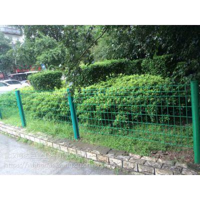 江岸区市政花坛围栏网 矮式绿色围栏网价格 武汉厂家自产自销