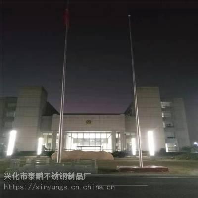 新云 苏州文化艺术中心不锈钢旗杆 苏州园区国旗杆供应