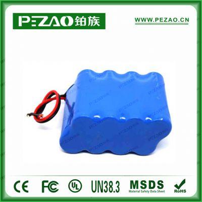 铂族医疗电池 监护仪18650锂电池组