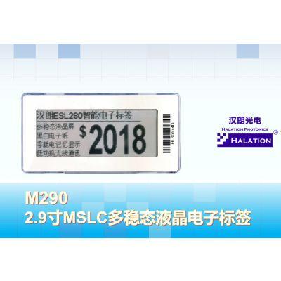 ESL,2.9寸,电子标价签,电子货架标签,电子纸,RFID,LCM,LCD,E-paper,点阵屏
