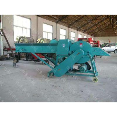 冬季饲料存储用包膜机 玉米秸秆打捆机 青贮圆捆机