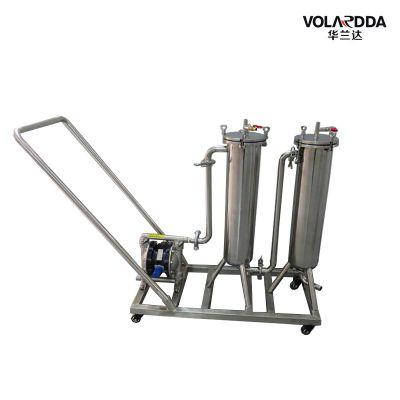 晨兴设计制造药酒过滤器 白酒过滤器 自带压力泵 不锈钢材质
