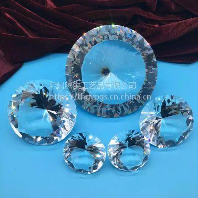 供应私人定制钻石,水晶内雕,专业水晶楼模建筑摆饰腾洪定制定做