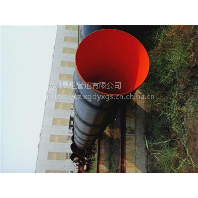 沧州灵煊地下管廊325*8防腐钢管 正品无加工