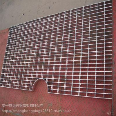 污水处理厂不锈钢钢格栅板 工业格栅钢板 尺寸定制建筑钢格板