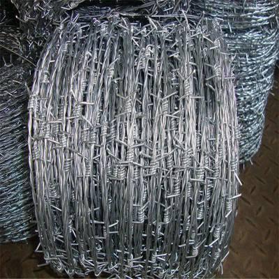 高铁刺绳 镀锌刺绳护栏 铁刺线