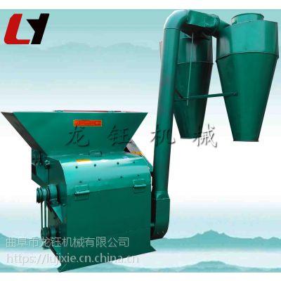 动力电玉米秸秆粉碎机 新型麦秸自动进料粉碎机