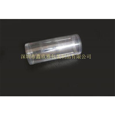 厂家直供、PVC透明环保包装圆筒、PVC日用品圆形塑料桶