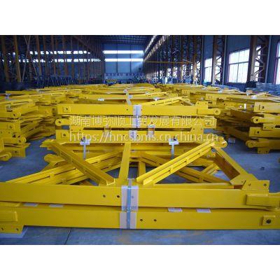 制造批发TCT7520平头塔吊通用型L68B1片式标准节及固定支腿