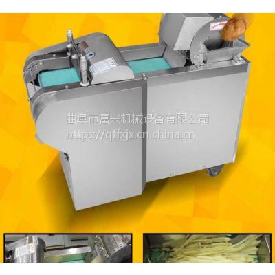 黑龙江年糕切片机哪里有卖 辣椒切段机 富兴土豆切块机
