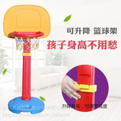 儿童篮球架子宝宝可升降投篮筐架篮球框家用室内户外运动塑料玩具