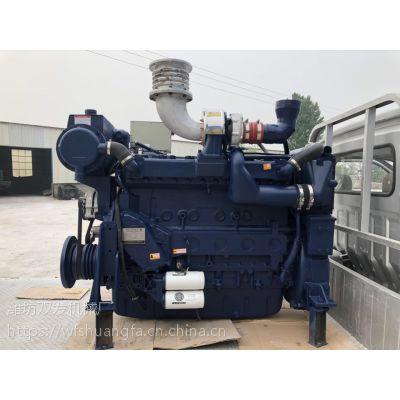 潍柴船用发动机276kw 潍柴斯太尔618船用柴油机 375马力船机