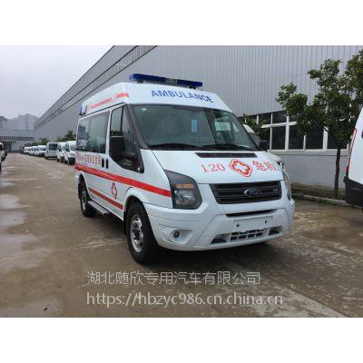 清远救护车销售救护车厂家直销国五福特全顺监护型转运型