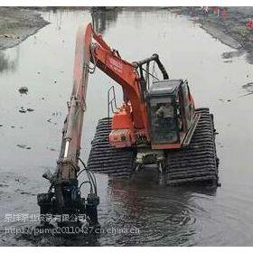 污泥泵河道疏淤、抽泥沙泥浆泵【QSY液压泥沙泵】