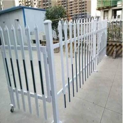 陕西草坪护栏PVC围栏榆林市PVC绿化带护栏咸阳市围墙护栏塑钢隔离栏
