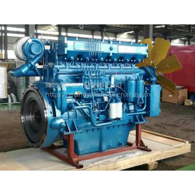 潍柴1000KW发电机组12M33D1210E200柴油机12缸