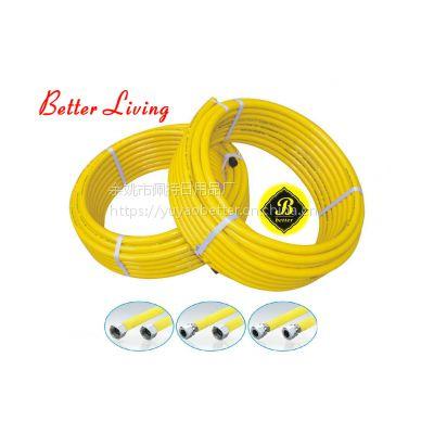 304不锈钢波纹管连接燃气表燃气灶金属管燃气管4分天然气灶具管