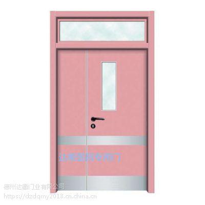 德州平原县学校门幼儿园专用门达衢干漆品牌实木复合木门卫生院用门