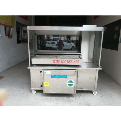广东万宏环保公司无烟烧烤车 厨房油烟净化器点焊