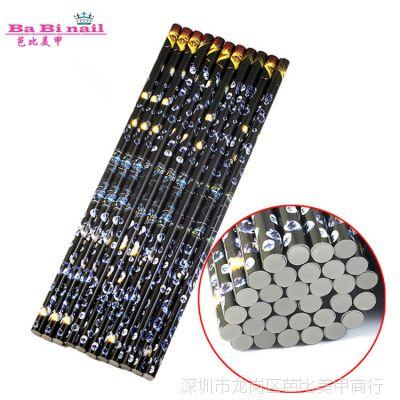 美甲蜡笔工具 饰品点钻蜡笔 美甲笔 点钻工具耐用粘性强