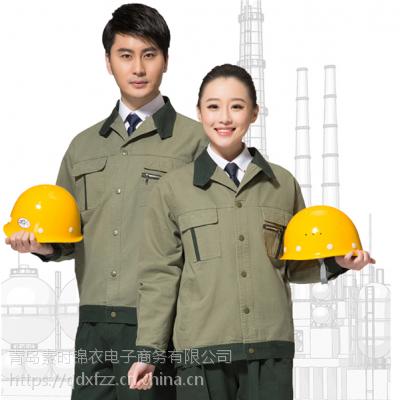 济宁工作服厂家 工程建筑工作服定做 挺括有型 素时锦衣