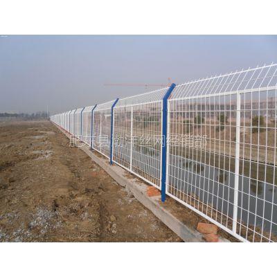 安徽肥西园林围栏 护栏网 养殖围网 球场围栏 小区隔离网 草坪PVC护栏