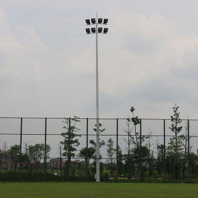 双层12米一拖八足球场灯杆|型号:YG1-8ZQ两节式设计