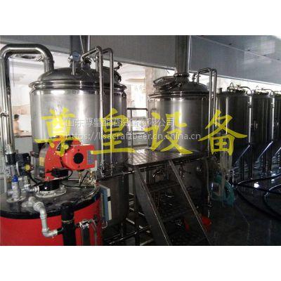 ZH200-1000L糖化两体三器精酿啤酒设备、啤酒生产线