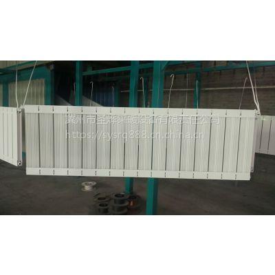 圣烨钢铝复合暖气片GLF13-5/X-1.0散热器供应双水道散热器