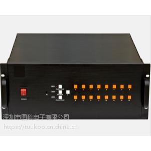 高清HDMI/VGA 十六画面分割器 显示屏16视频处理器