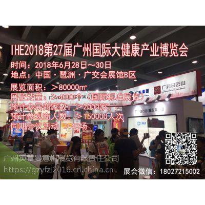 海外推广 | 2018年6月28-30日大健康展会