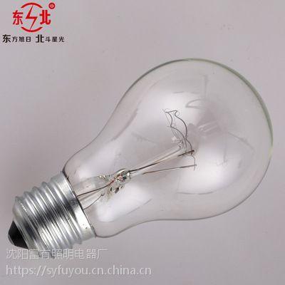 厂家批发白炽灯泡220VE27螺口工程物业装修用普通照明灯泡