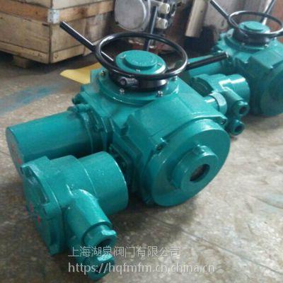 上海湖泉 Z180-18W多回转阀门电动装置