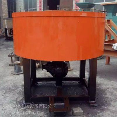 轮碾搅拌机 立式轮碾式混合机 多功能辊式轮碾机