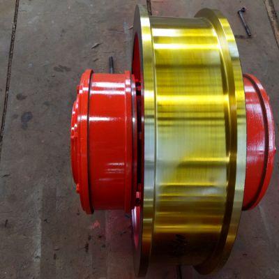 图号L177车轮组 φ710x180双缘行车轮 起重机轨道驱动轮 亚重