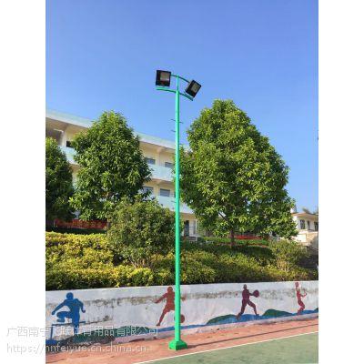 南宁篮球场灯杆照明 户外夜间球场灯杆照明