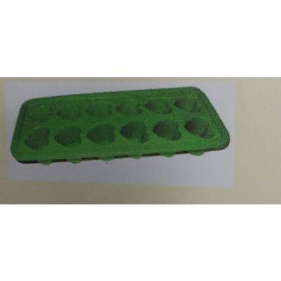 鼎聚赢硅胶12孔爱心造形水滴形冰格蛋糕模布丁手工皂模模具烤盘耐高温Diy工具