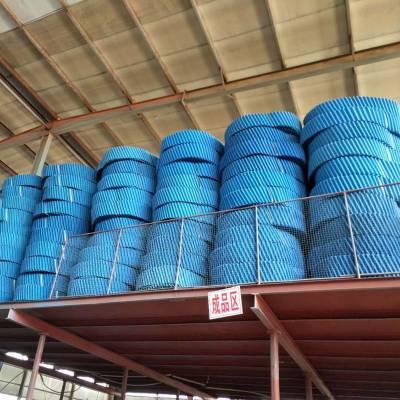 一个圆塔用多少填料PVC材质蓝色的那种 【河北华强】