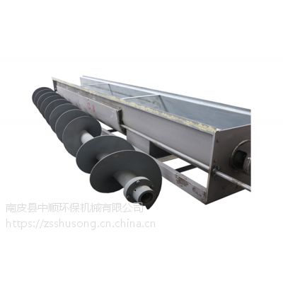 煤炭厂非标定做无轴WLS500螺旋输送机设备加工厂家