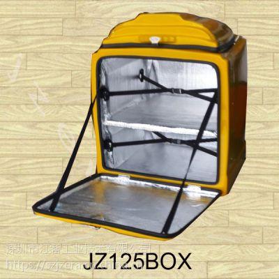 供应江智加隔层加蛋糕装置的外送箱外卖箱保温箱配送箱