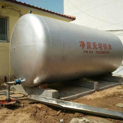 净泉牌20吨不锈钢无塔供水设备经久耐用