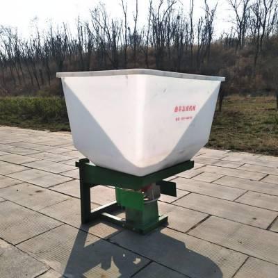 批发供应前置电动追肥机 白色料斗的施肥器 四轮车载的抛撒机