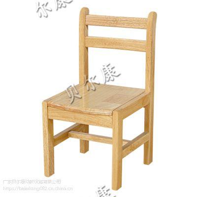 贝尔康 幼儿木椅 学习椅 实木椅