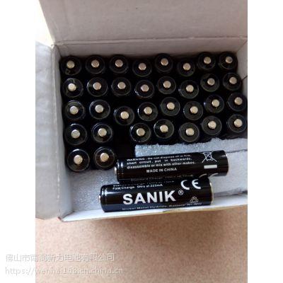 供应SANIK电池、NI-MH AAA 750MAH 1.2V镍氢电池、镍镉电池、26650锂电池