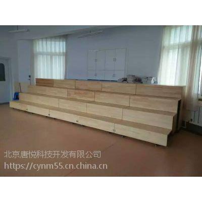 抽拉式合唱台 北京合乐合唱台厂家