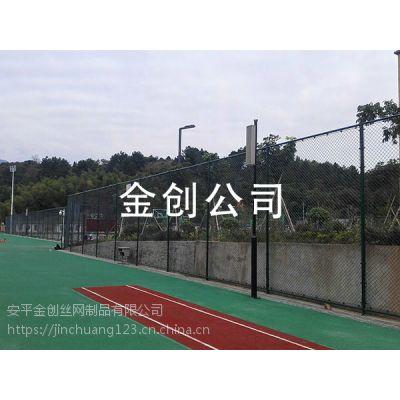 现货供应镀锌丝浸塑操场围网 体育场围网