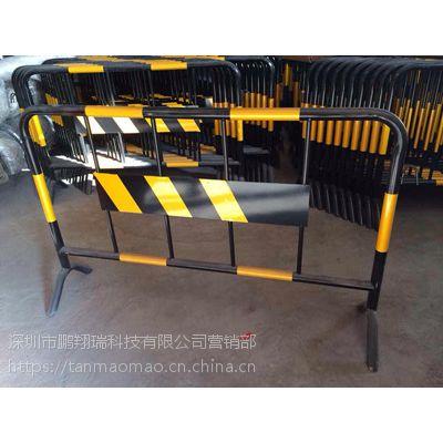 鹏翔瑞HL1铁马护栏 市政施工铁围栏防撞栏 烤漆铁马围档