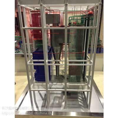 HG-670/100-1超高压再热锅炉模型