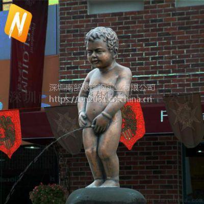 南部玻璃钢nbds002仿铜人物雕塑